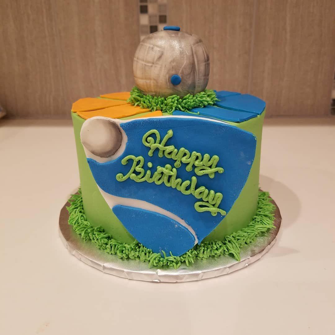 Rocket league birthday cake birthdaycake videogames