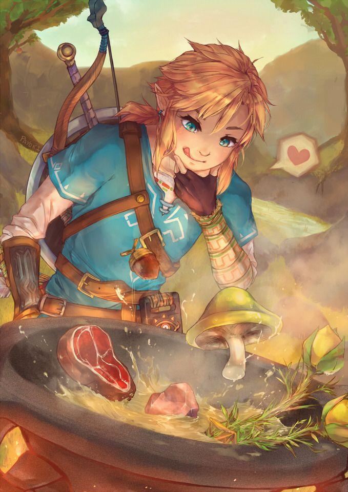 Tloz Botw Link Legend Of Zelda Legend Of Zelda Breath