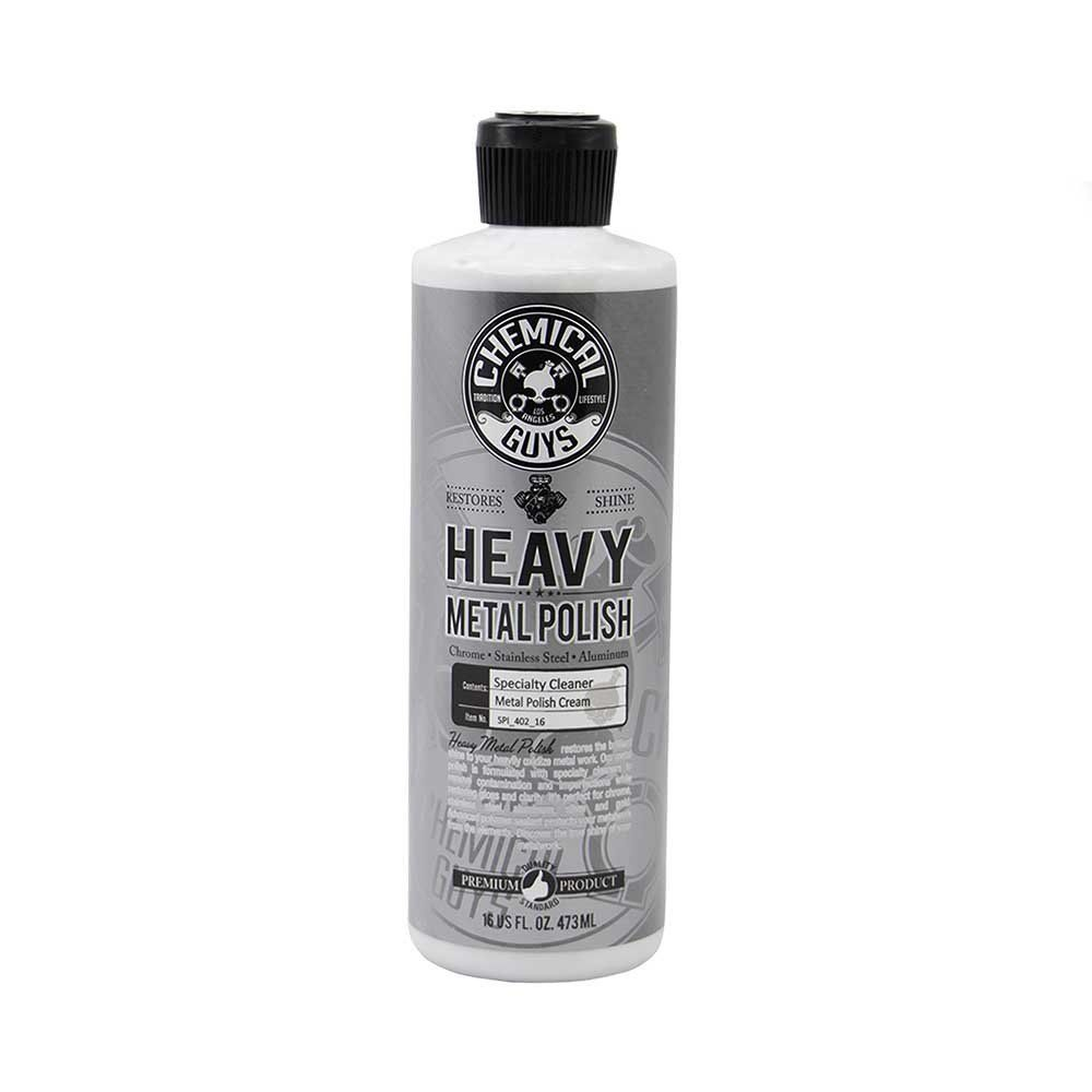 Amazon Com Chemical Guys Spi 402 16 Vintage Series Heavy Metal Polish 16 Oz Automotive Metal Polish Chemical Guys How To Clean Metal