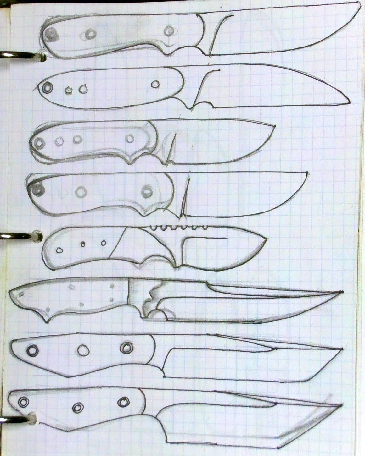 Knife Designs Silent Version Youtube Knife Patterns Knife