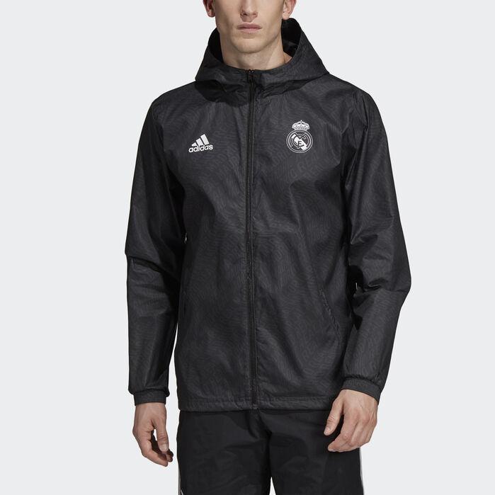 Adidas Real Madrid CF WINDBREAKER WHITE