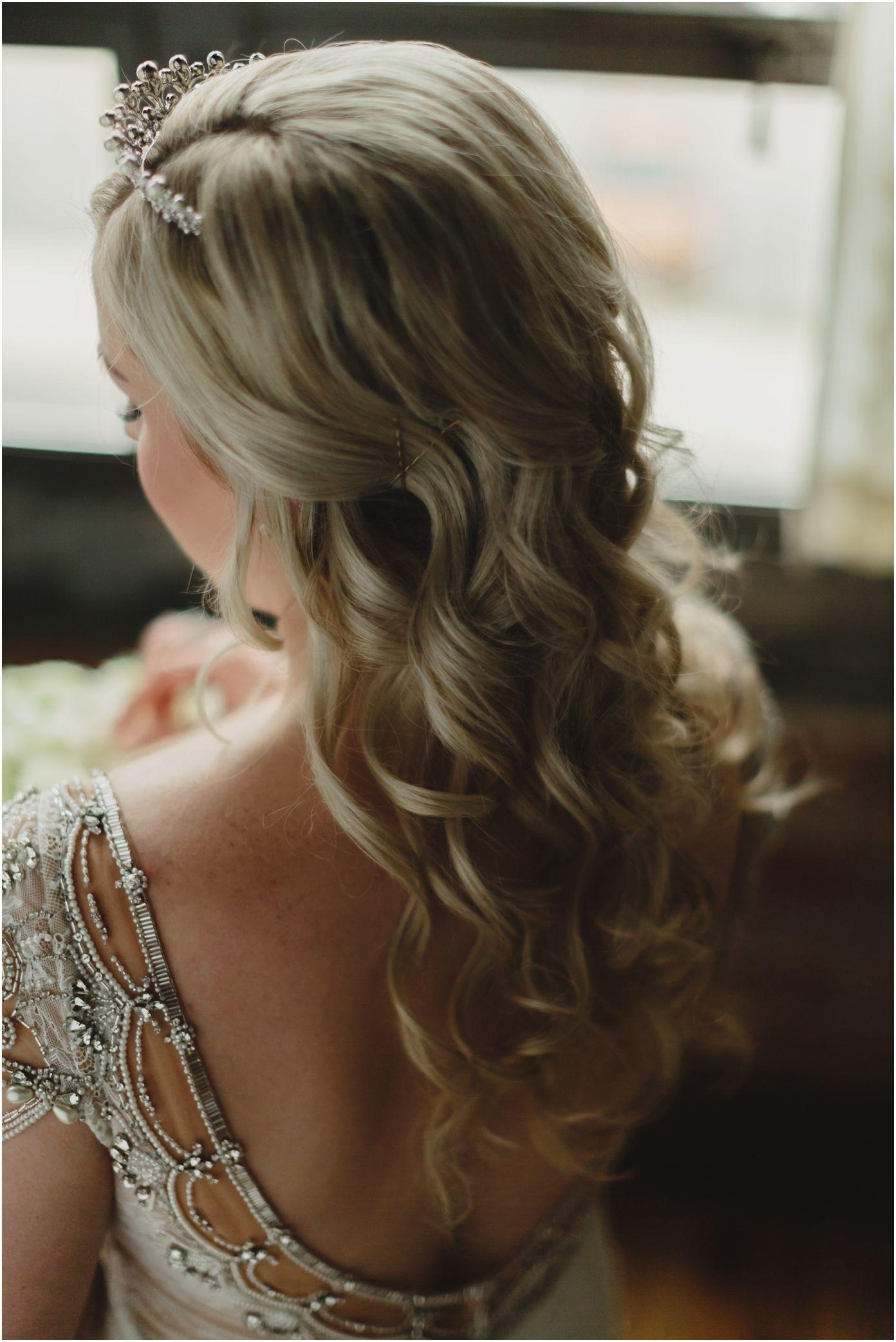 Romantic winter wedding bridal hair. | Wedding Hair - Knoxville ...