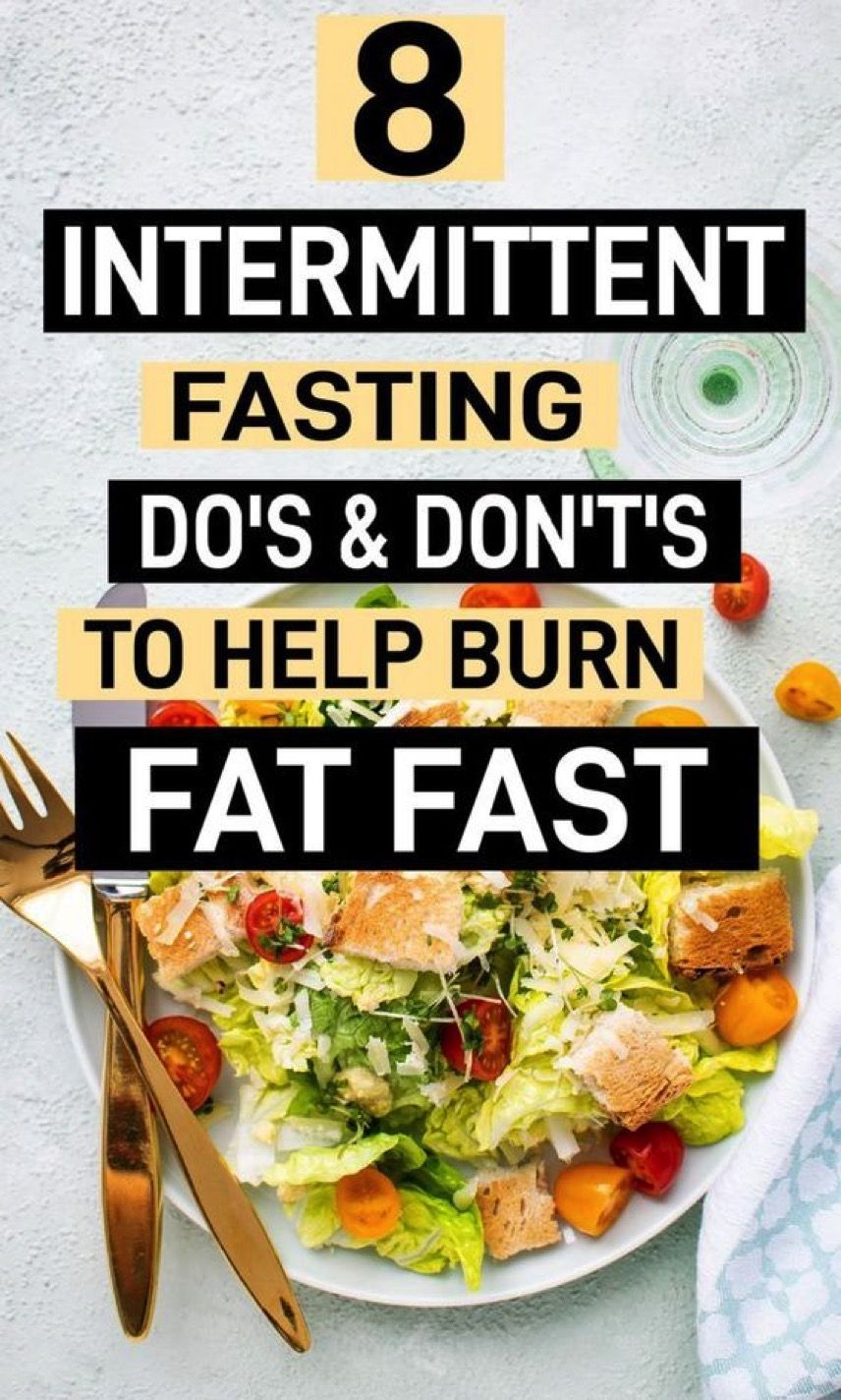 8 intermittent fasting dos and donts you need to follow