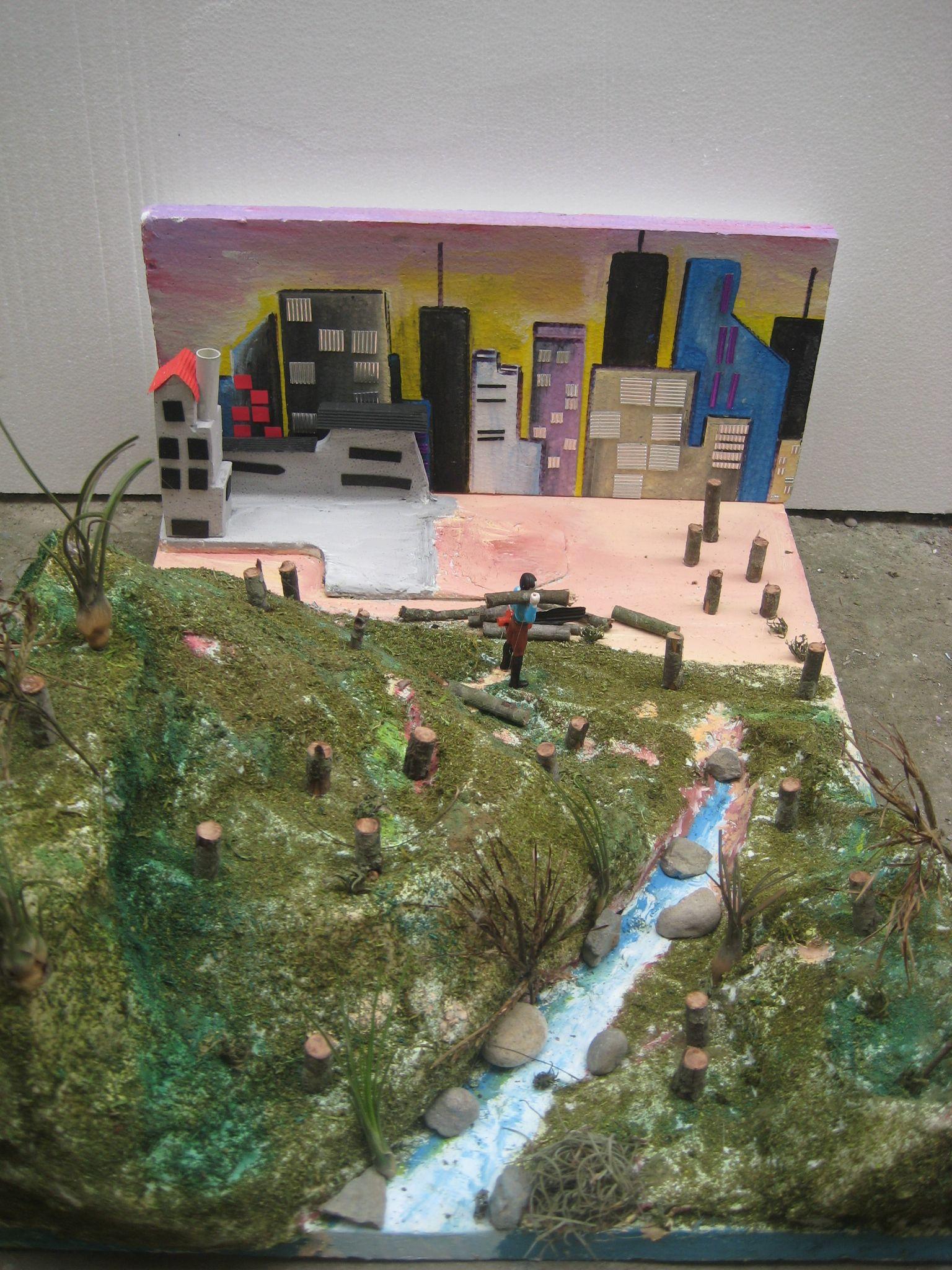 Contaminacion ambiental en maqueta contaminaci n for Informacion sobre el suelo