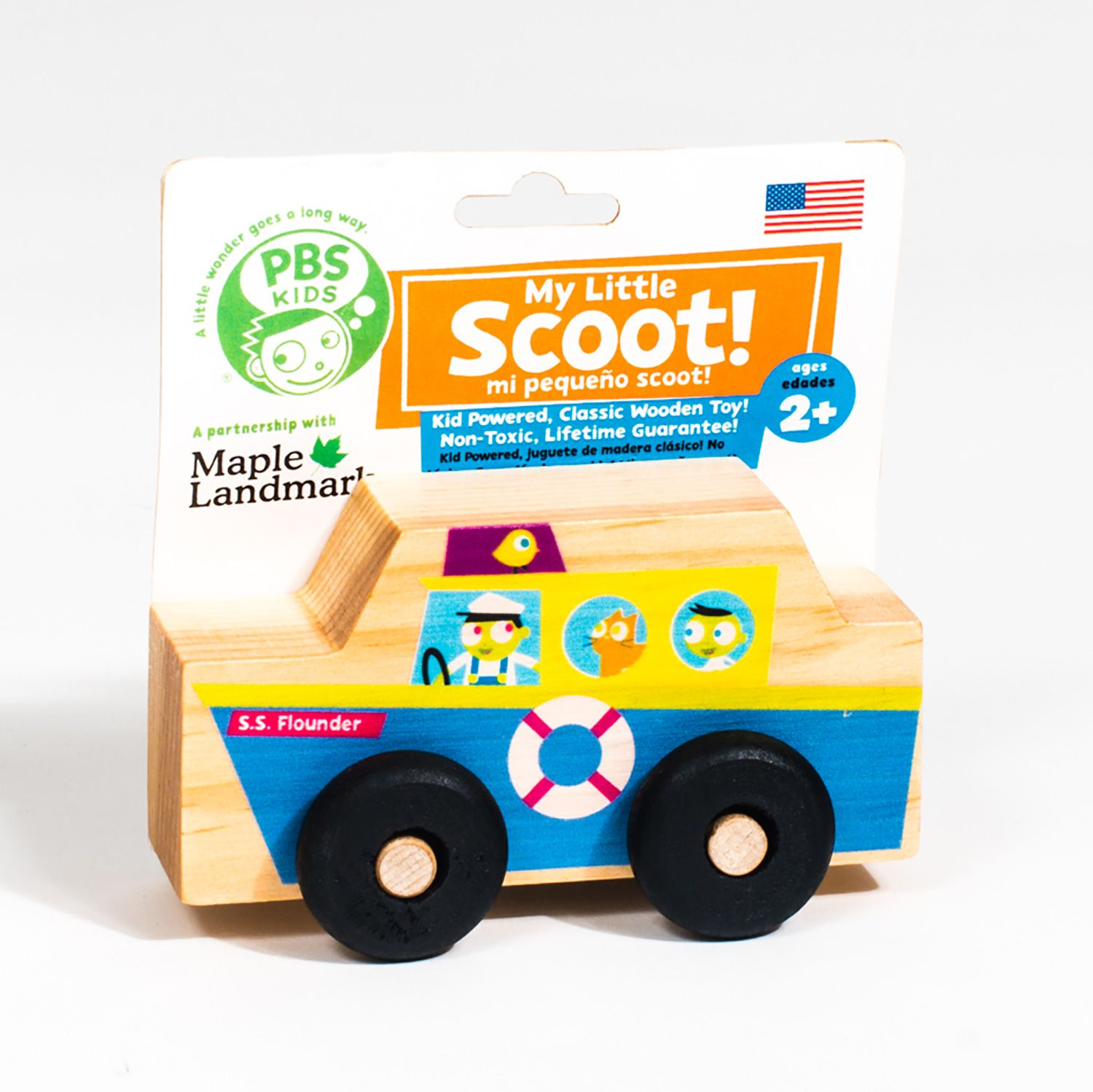 Set sail with this My Little Scoot Wooden Boat!   PBS KIDS Toys ...