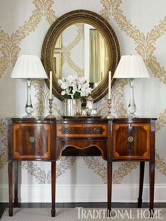 Antique sideboard...timeless and sophisticated   Decorating ...