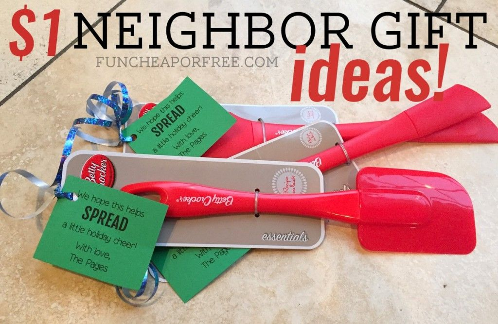 30 Cheap, Easy and LastMinute Neighbor Gift Ideas Cheap