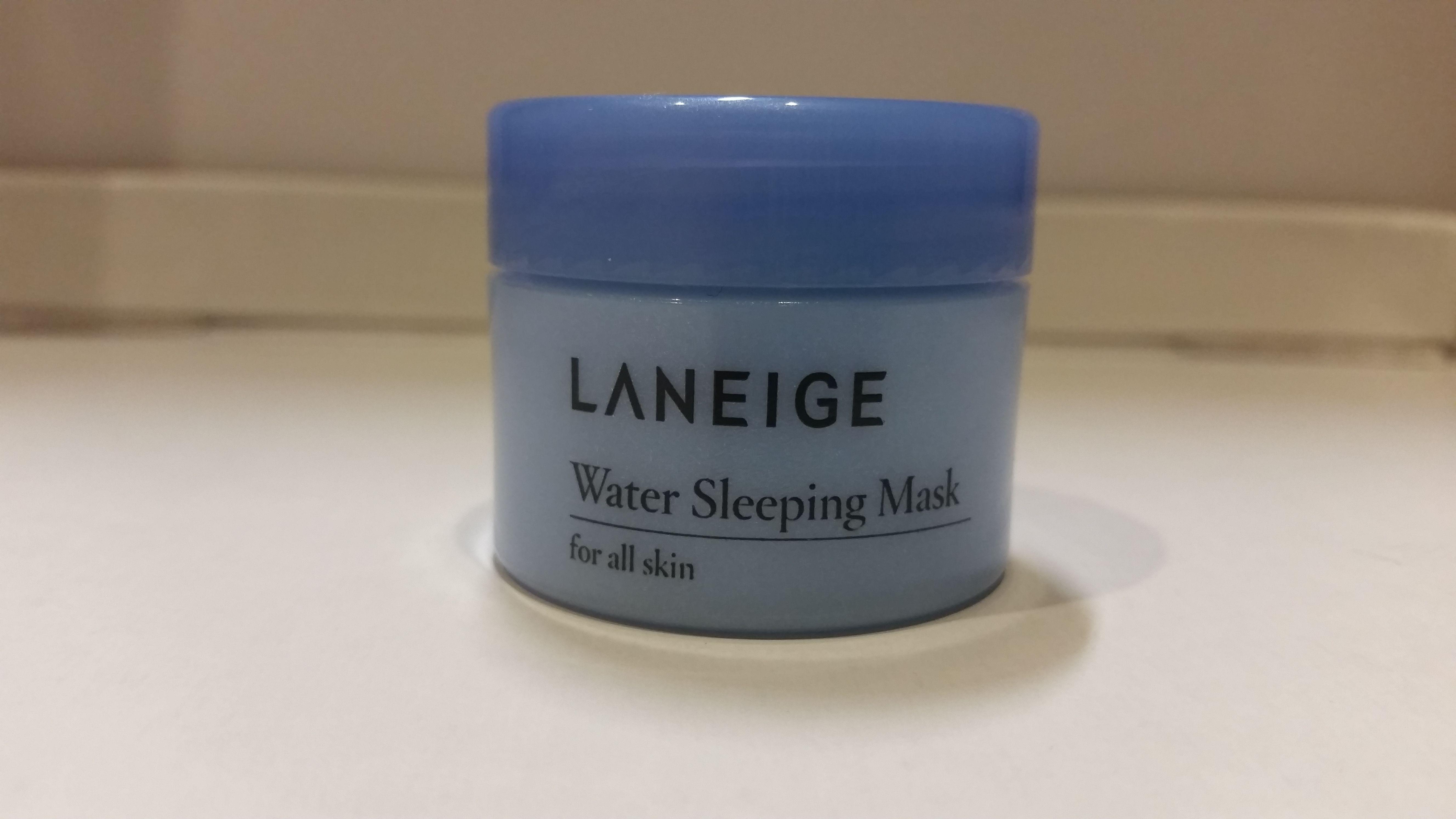 Laneige Water Sleeping Mask In Trial Size My Moisturizers Lip Travel