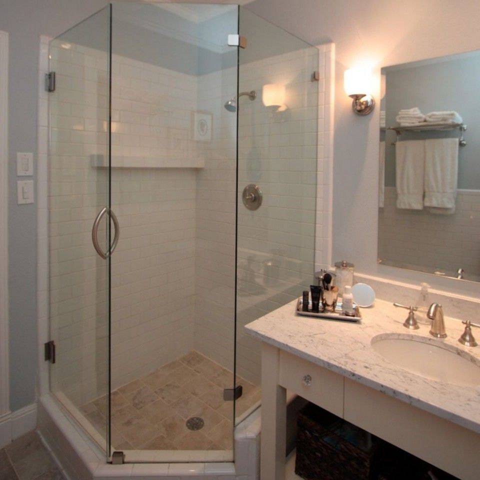 Corner Shower Small Bathroom Design Bathroom Corner Design Shower Small In 2020 Corner Shower Small Small Bathroom Corner Shower