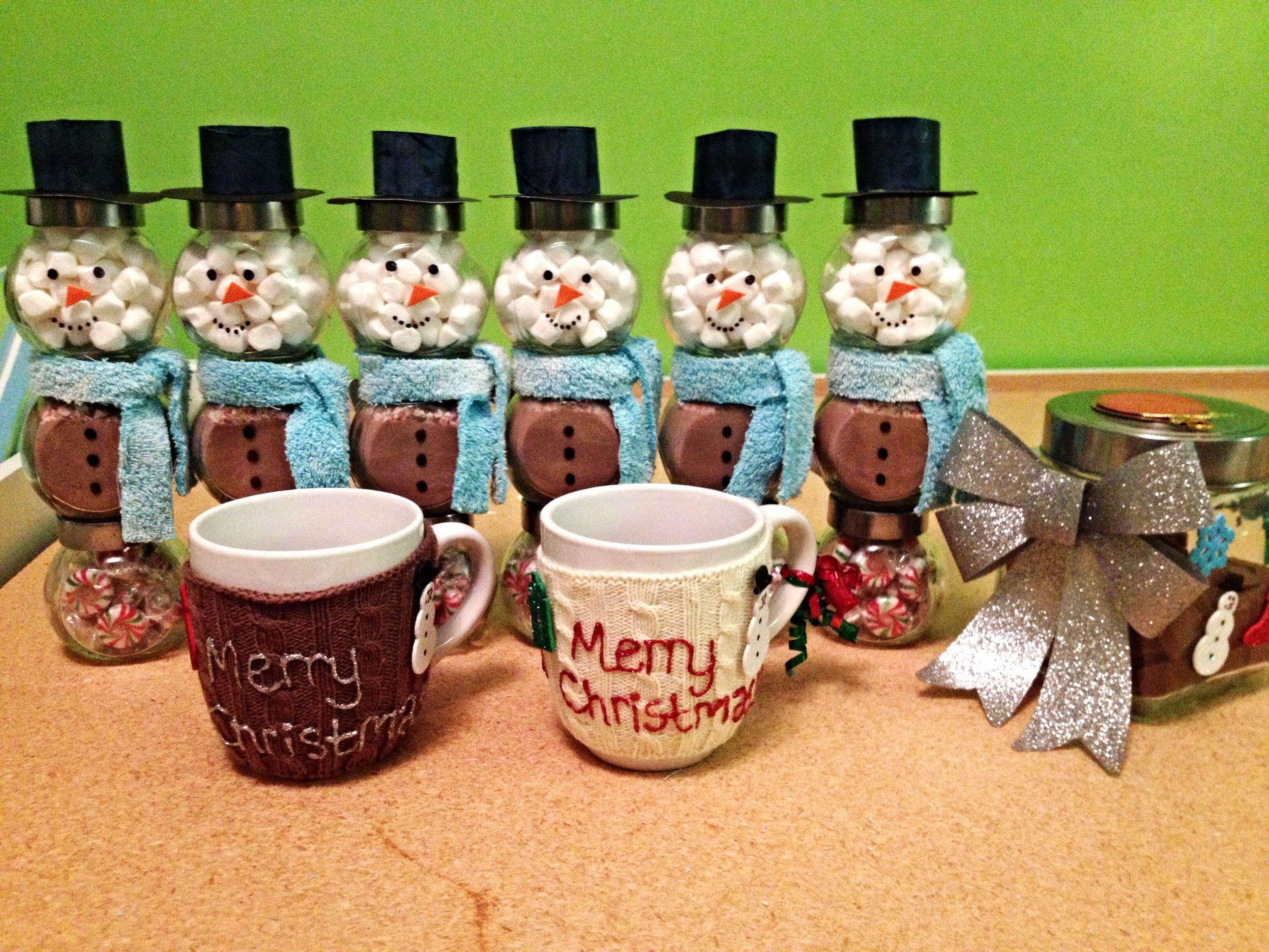 DIY Christmas gifts... Homemade mugs, Hot chocolate