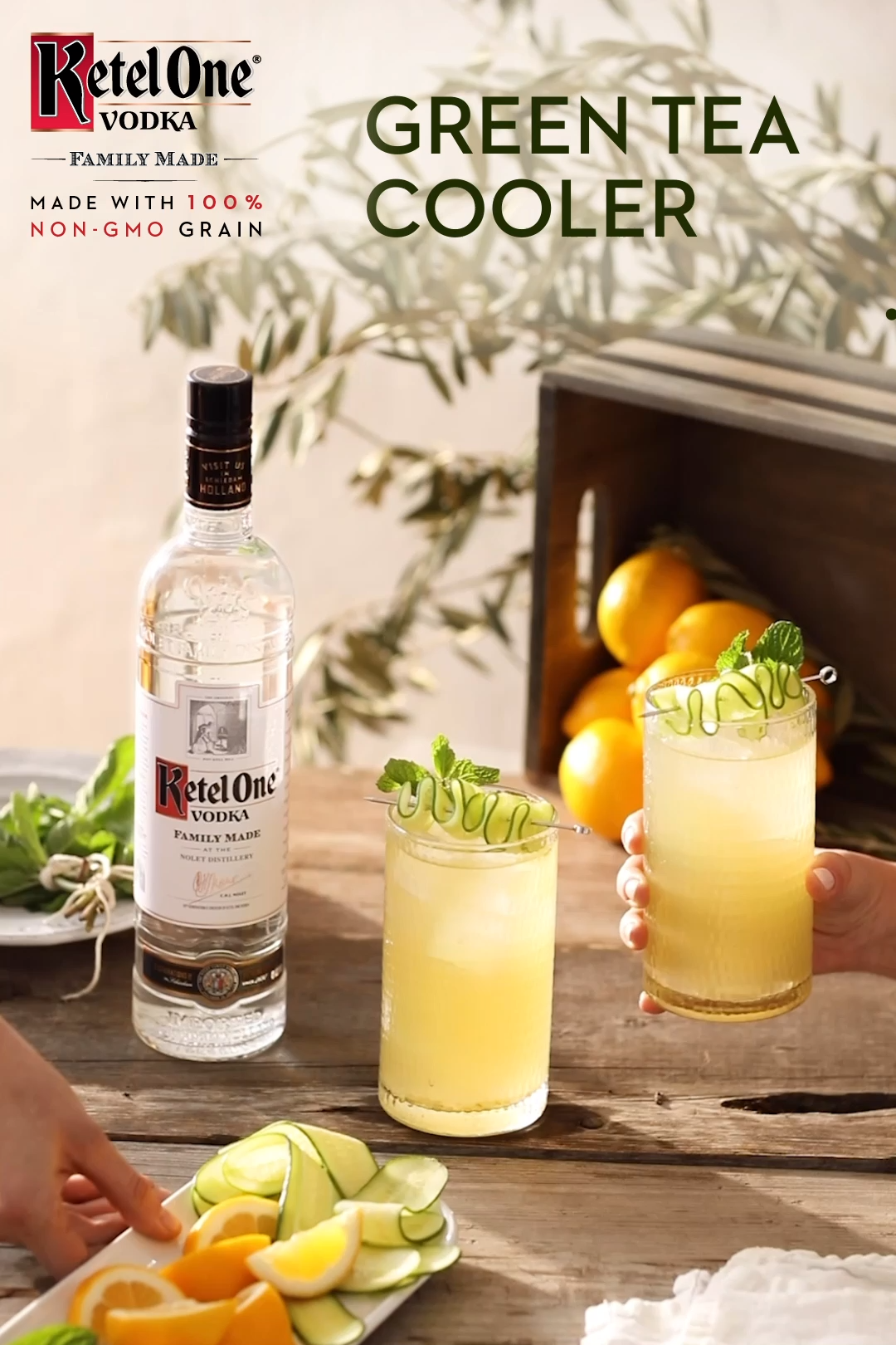 Photo of Ketel One Green Tea Cooler