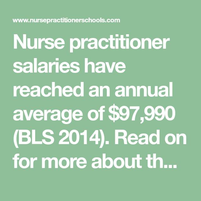 23+ How Much Does a Nurse Practitioner Make   NursePractitionerSchools.com