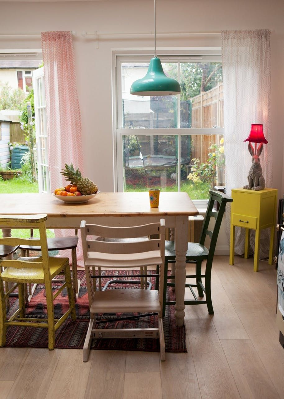 Gigi\'s Candy-Colored London Cottage | Candy colors, House tours and ...