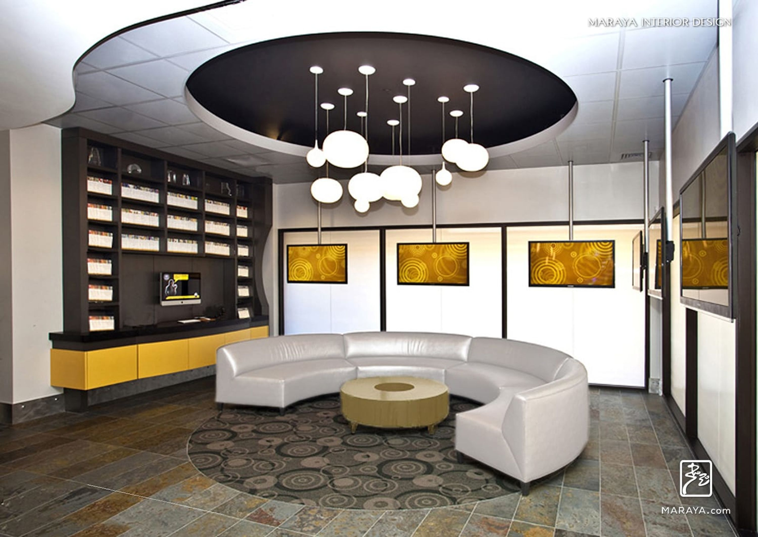 modern office reception interior design ideas | Stunning Offices ...