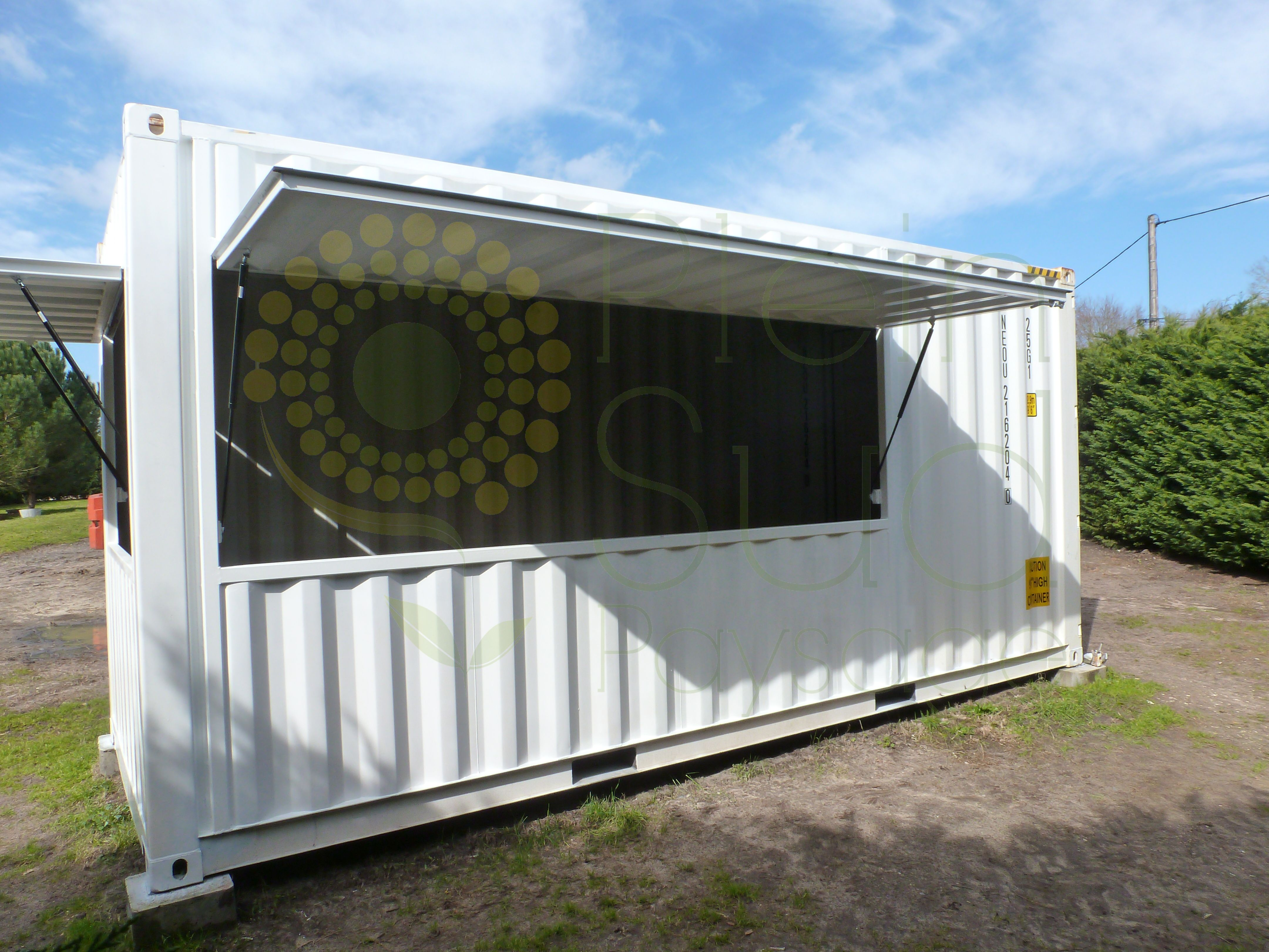 Container Aménagé Studio Prix container maritime 20 pieds high cube aménagé snack / bar