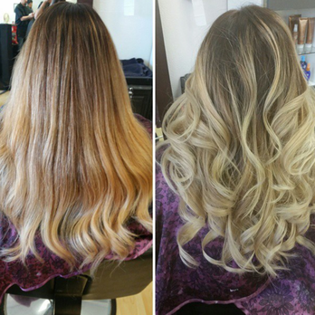 Partial Perm Before And After Google Search Hair