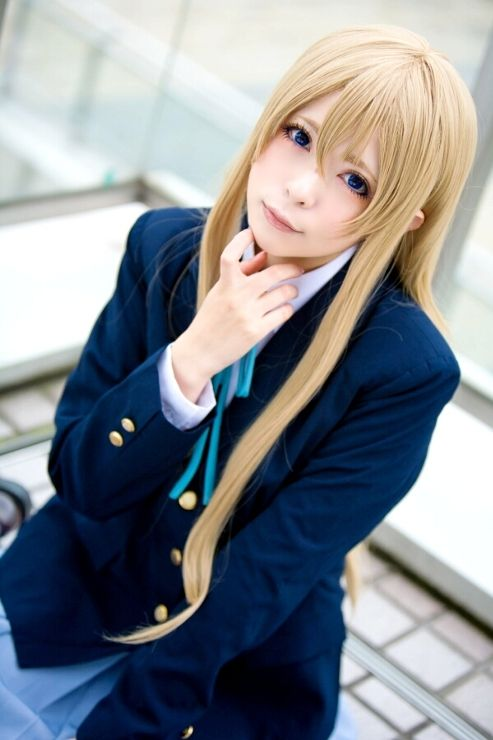 k anime cosplay: Tsumugi Kotobuki Cosplay From K-ON!