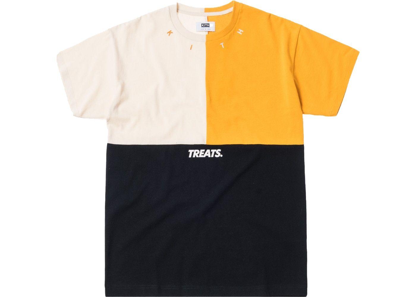 b80911bf Kith Treats Triblock Tee Black | Liste de noël | Mens tops, Polo, Shirts