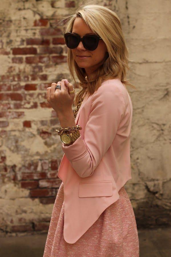 a96af2284953 Jacket: Zara. Sunglasses: Karen Walker. Necklace: Saks 5th (old). Jewelry:  David Yurman, Jcrew, Michael Kors, Lydell NYC. Nails: Butter London 'Teddy  Girl'.