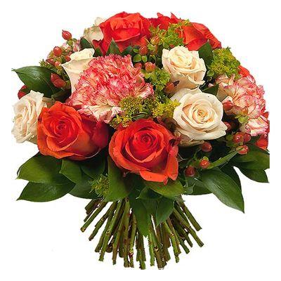 Bouquet De Fleurs Aquarelle Com Jardin De Toscane Livraison