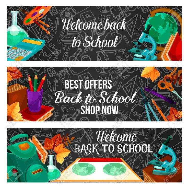 Back to school special offer sale banner design   Back to school special offer sale banner design