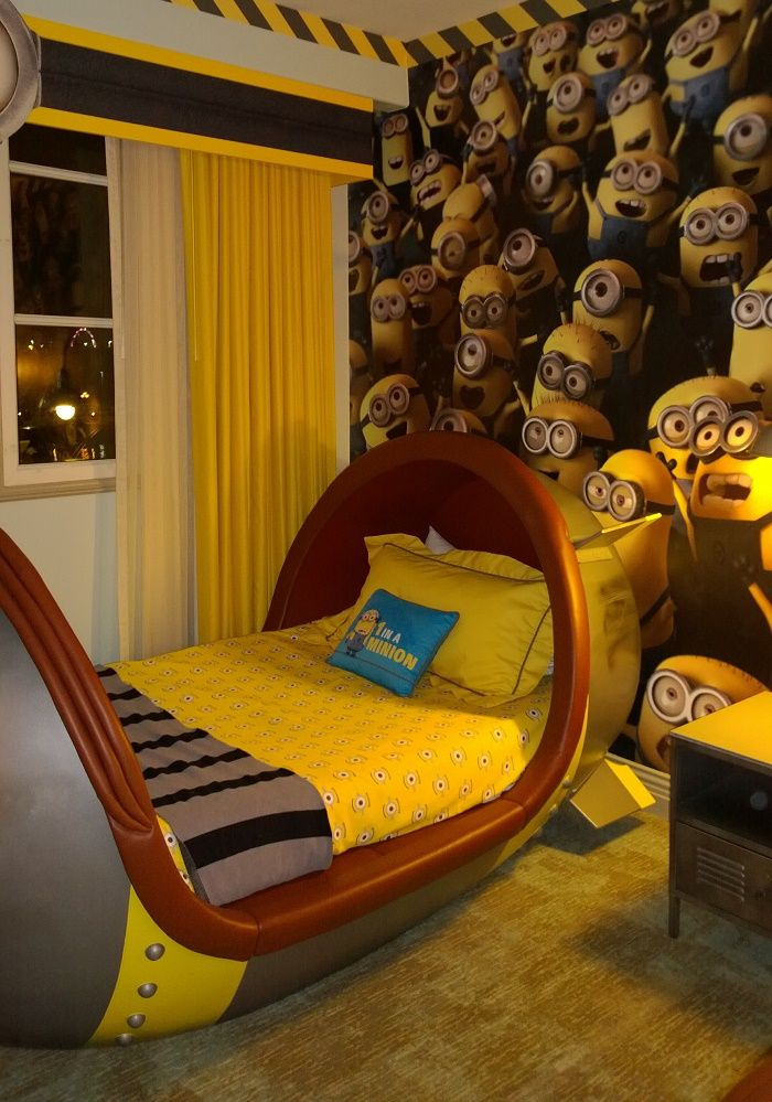 Loews Portofino Bay At Universal Studios   Minions Room