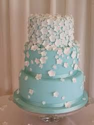 Image Result For Duck Egg Blue Wedding Cake