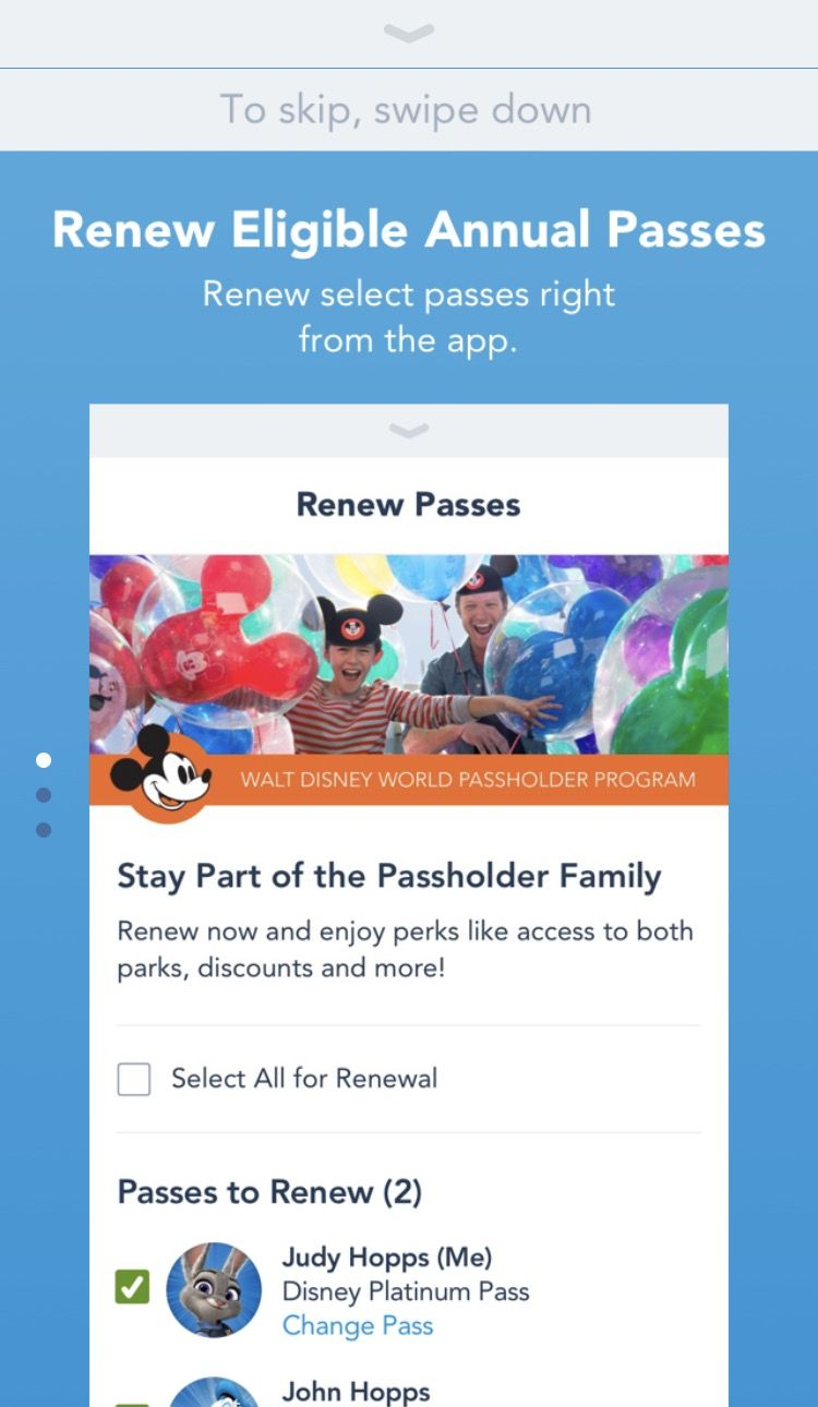 Track Your Dining Credits and More with Latest My Disney