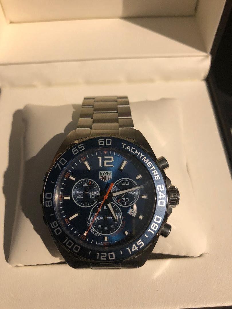 0812bcb5b22 Tag Heuer Men's CAZ1014.BA0842 'Formula One' Chronograph Stainless Steel  Watch