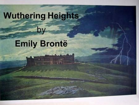 Wuthering heights essay questions