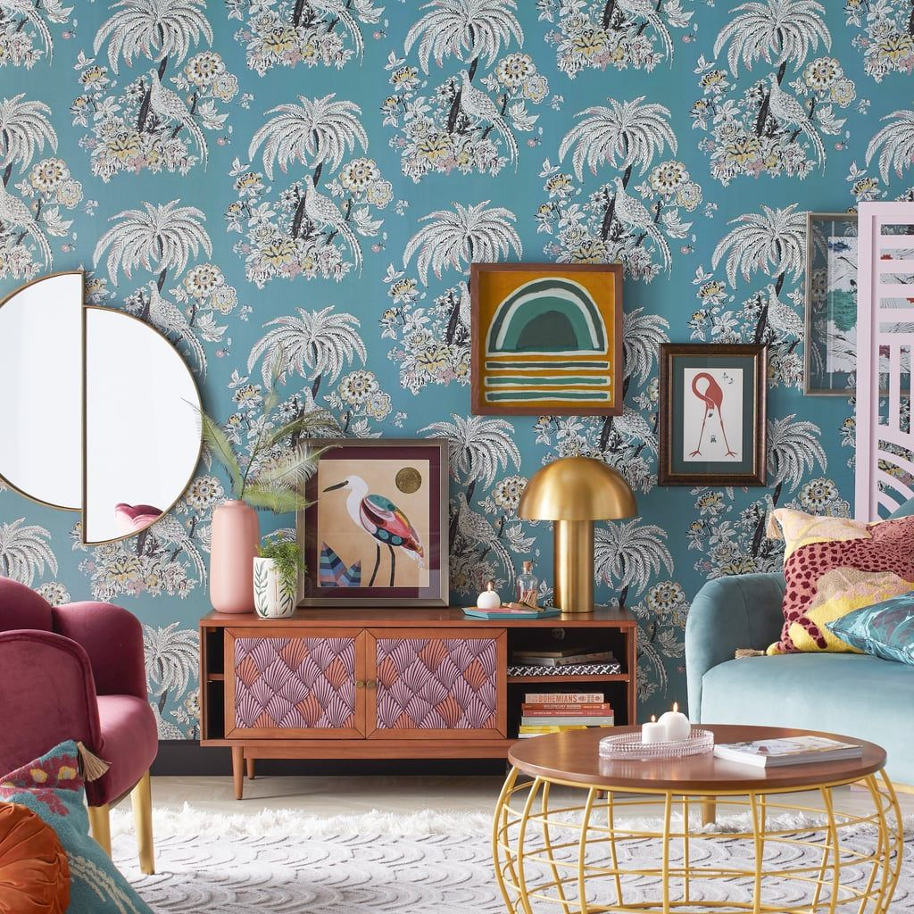 Drew Barrymore S Home Line Has New Peel And Stick Wallpaper And It S So Affordable Home Decor Affordable Wallpaper