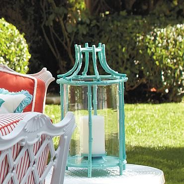 Tropical Bamboo Lantern