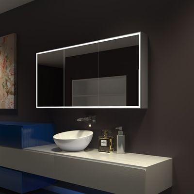 Paris Mirror Medicine Cabinet CGAL6028 Galaxy 3 Door ...
