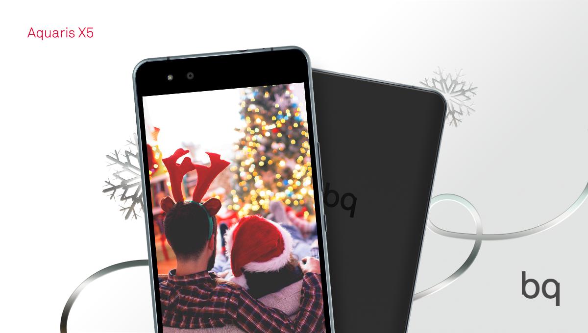 Captura Los Momentos Más Bonitos De Estas Fiestas Aquaris X5 Christmas Time Happy Christmas Iphone