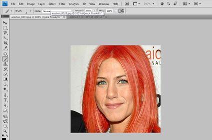Change Hair Color - Photoshop Tutorials - CSSCreme.com