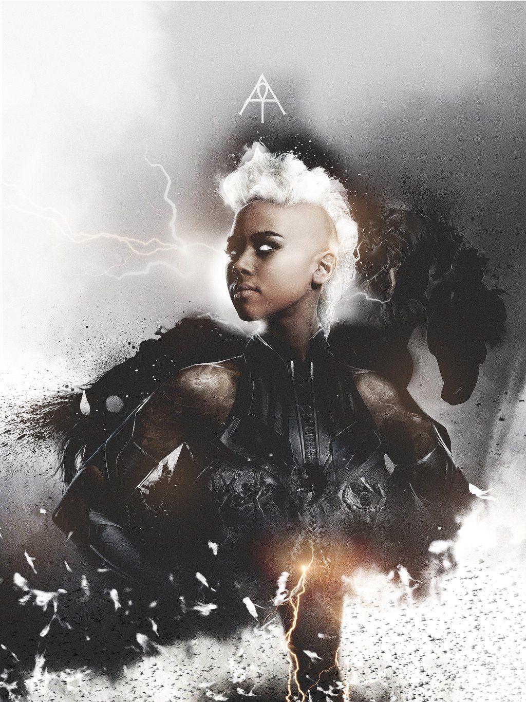 Alexandra Shipp Illustration: X-Men
