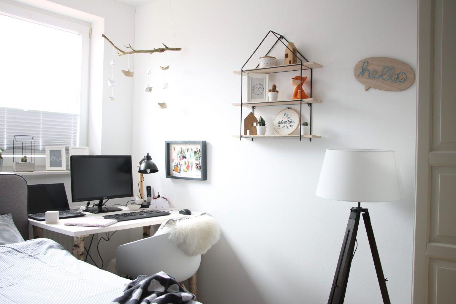 Anzeige Ein Schlafzimmer im ScandiStyle einrichten mit