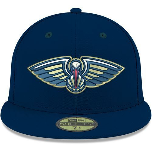 new style 26f07 f56ba New Era Men s New Orleans Pelicans 59FIFTY Stock Cap (Navy, Size ) - Pro  Licensed Product, Nfl Caps at Academy Sports
