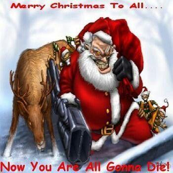 Baddd Santa Good Girls Get Coal Bad Girls Get Me Creepy Christmas Scary Christmas Bad Santa