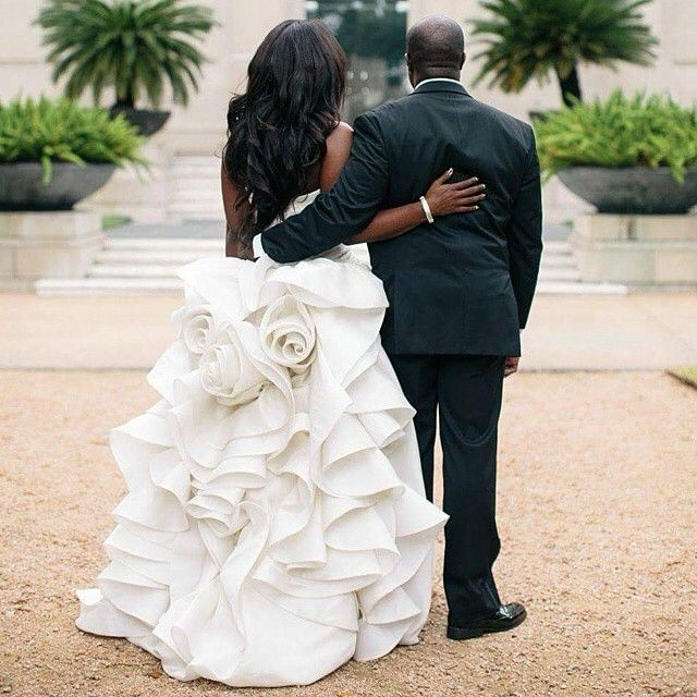 "That dress!! ###Repost from @dconcierge_events "": Akil Bennett Photography @akilbennett brother you KILLED this shot!!!!!"" #MunaluchiBride #munaluchi #weddingdress #bridalportrait"