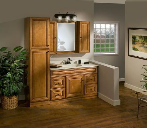 Pace Plantation Series X X Linen Cabinet At Menards - 84 bathroom vanities and cabinets