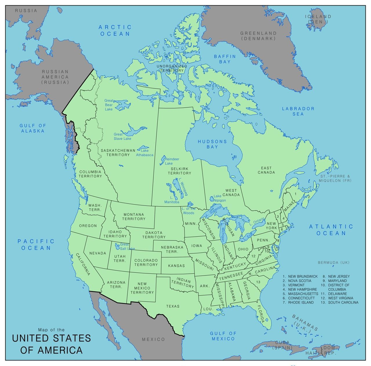 proposed annexations 1866 by rubberduck3y6 map usa canada