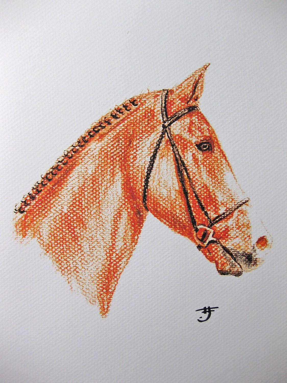 Pin By Catherine Tallman On Ponies Horse Artwork Drawing Prints Original Art