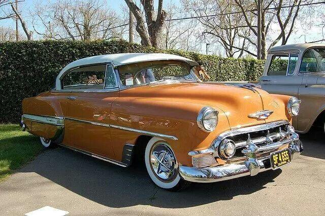Creamsicle Orange Chevrolet Bel Air Dream Cars Classic Cars