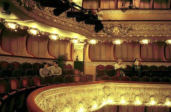 Inside view of the 'Théâtre de l'Athénée Louis Jouvet', Caumartin street, 9th arrondissement