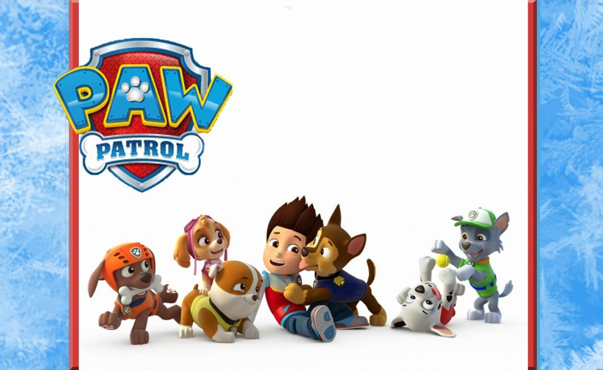 photograph about Printable Paw Patrol Invitations referred to as Paw Patrol Get together Invitation Birthday recommendations within 2019 Paw