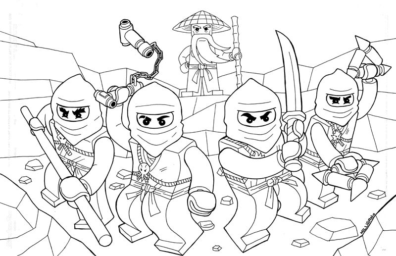 Lego ninjago coloring pages - Coloring Pages | kleurplaat Sven ...