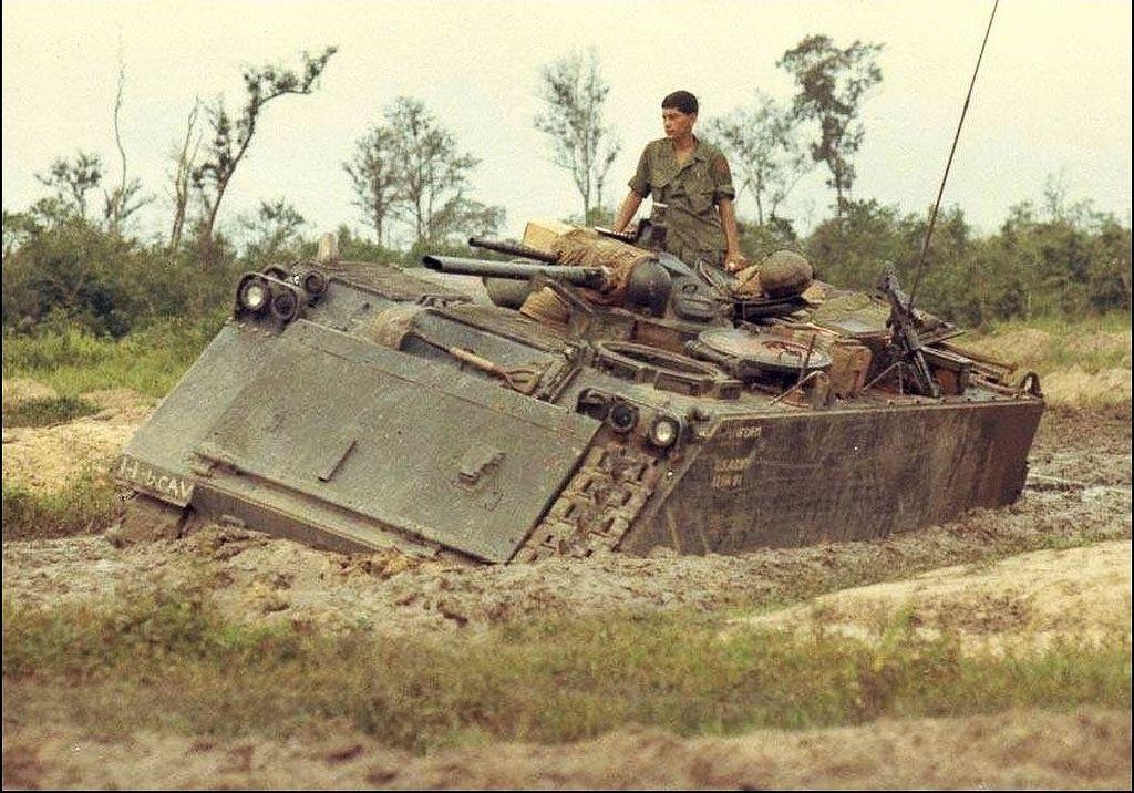 M132 Zippo Track 1 4th Cavalry The Quarterhorse 1st I Vietnam War Vietnam Vietnam History