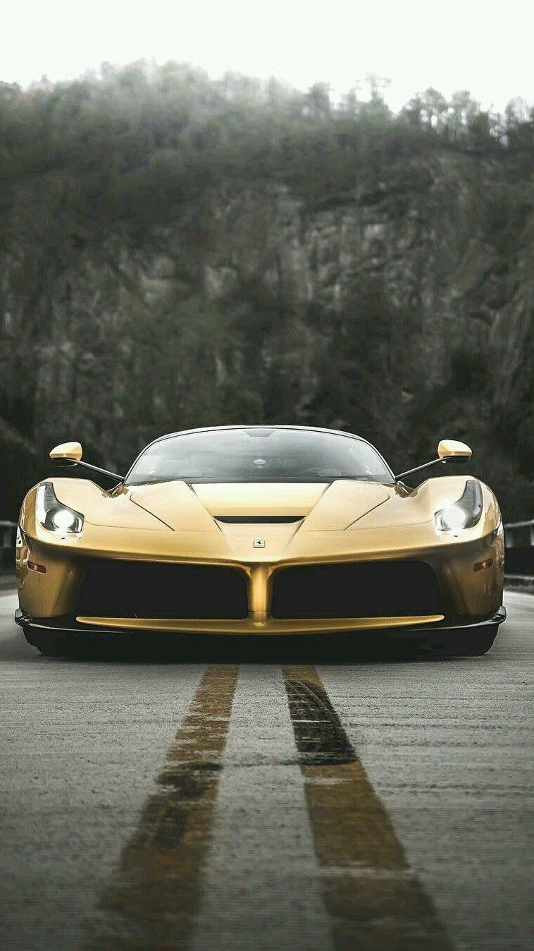Gold Laferrari Wallpaper Gold Car Ferrari Laferrari Wallpapers Car Wallpaper