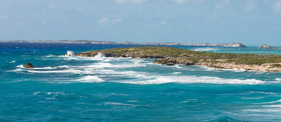 The rugged beauty of South Caicos, Turks and Caicos Islands www